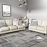 Container Furniture Direct Modern Tufted Velvet Living Room Sofa Set