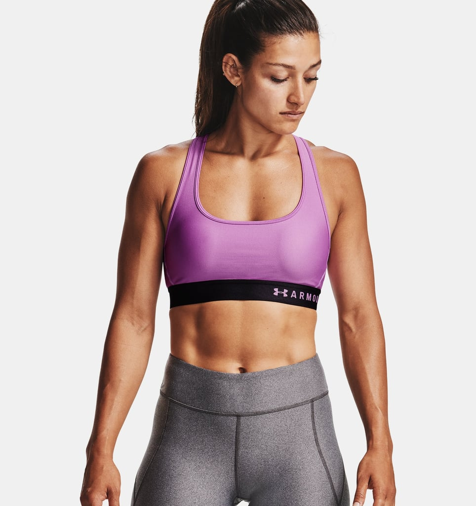 Armour® Mid Crossback Sports Bra