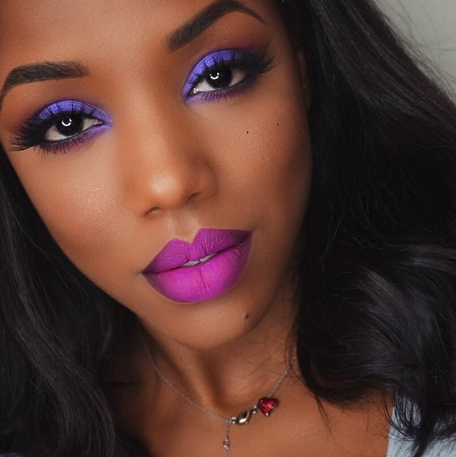 32 Black-Owned Makeup Brands To Add To Your Beauty ...  |Women Black And Blue Mascara