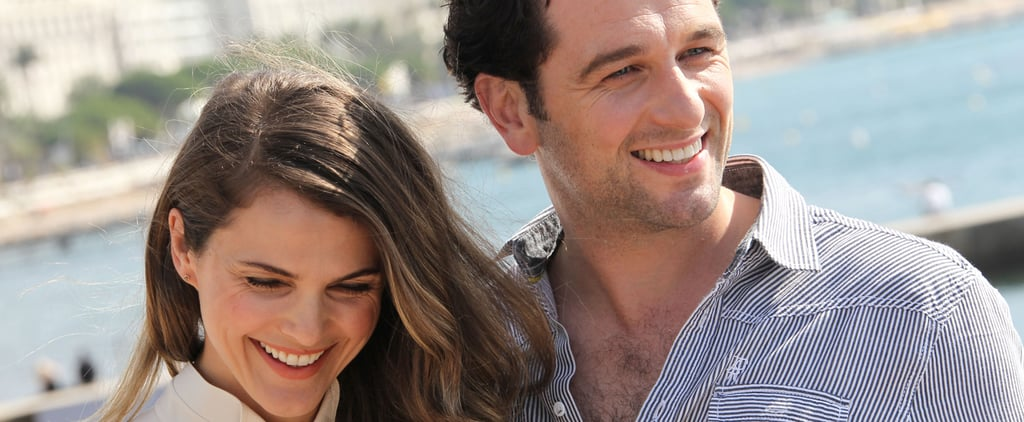 Keri Russell Really Can't Hide Her Smile Around Matthew Rhys