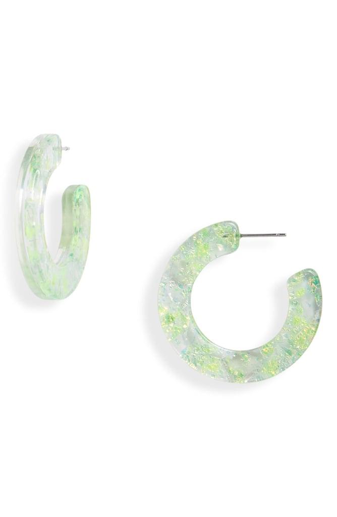 Machete Kate Hoop Earrings
