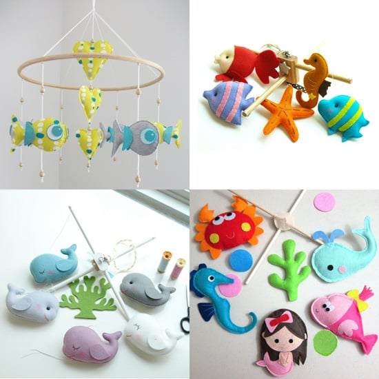 Handmade Under the Sea Mobiles
