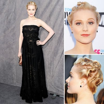 Evan Rachel Wood at Critics' Choice 2012