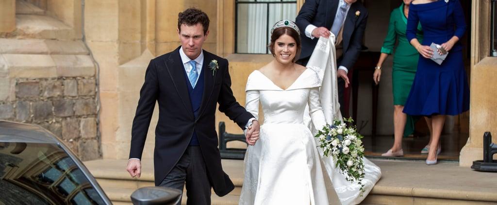 Princess Eugenie Jack Brooksbank Wedding Reception Details