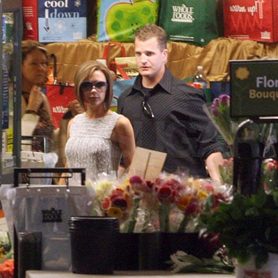 Victoria Beckham at Whole Foods