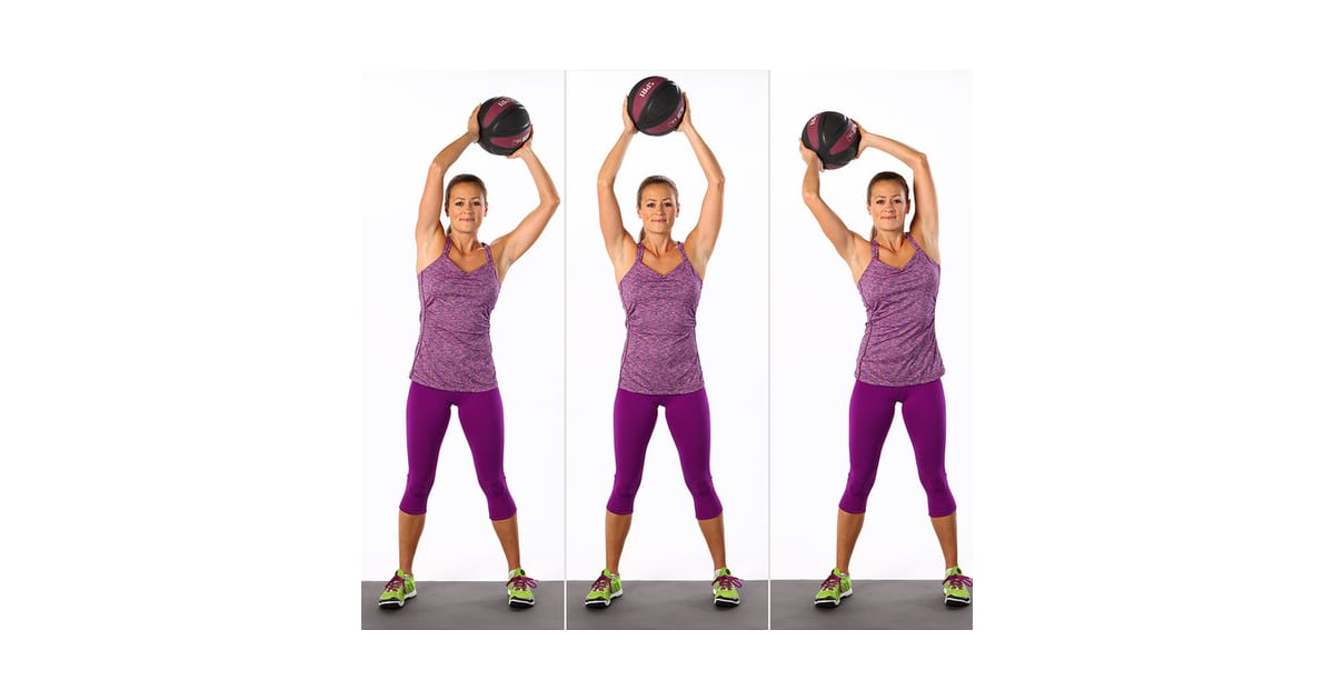 Overhead Circles With Medicine Ball | 25 Ab-Toning Moves ...
