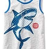 Shark Graphic Tank