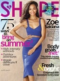 """Zoe Saldana: """"I've Never Wanted Different Hair or My Body Any Other Shape"""""""