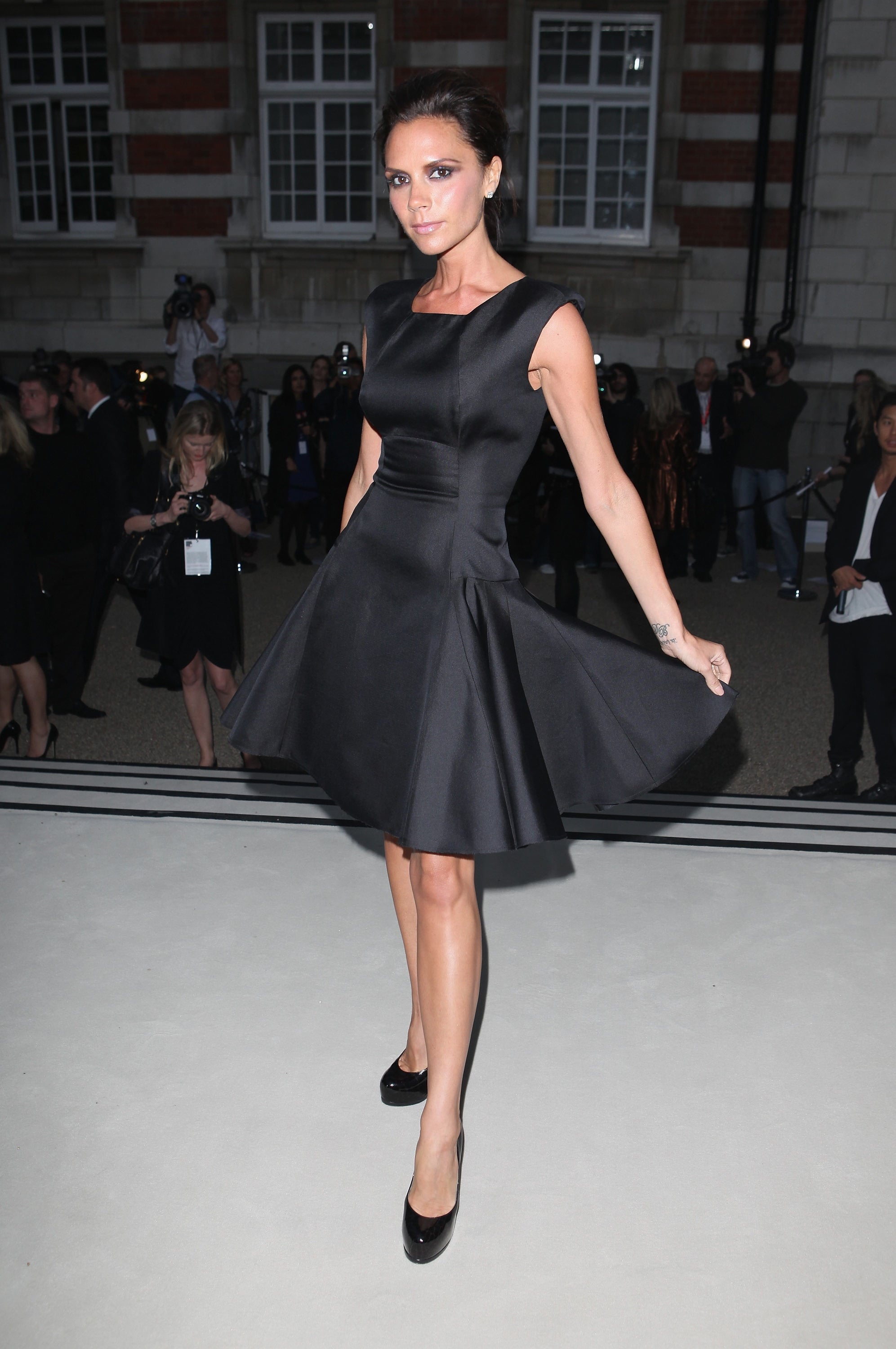 Victoria Beckham Will Not Become A Model Scout Popsugar Fashion How To  Become A Model Scout