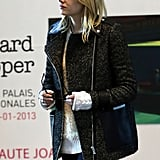 Emma Stone arrived in Paris to shop.