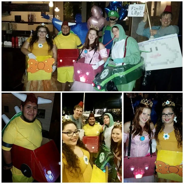 Mario Kart Gang From Super Mario Bros.  sc 1 st  Popsugar & Mario Kart Gang From Super Mario Bros. | Video Game Costumes ...