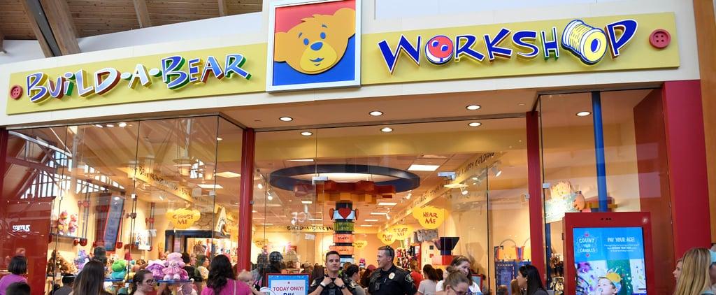Build-A-Bear's Birthday Pay Your Age Deal