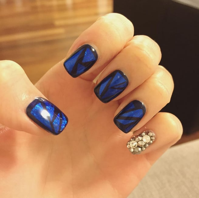 Glass Nail Art Popsugar Beauty Australia