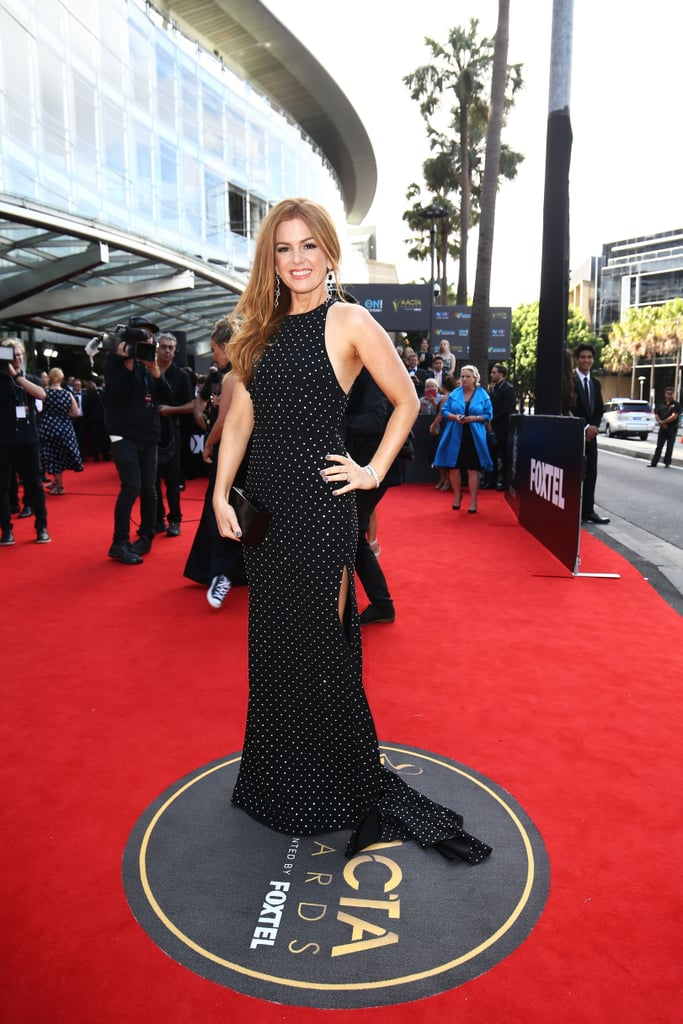 Isla Fisher Is Winning More Than Just the AACTA Trailblazer Award With This Beauty Look