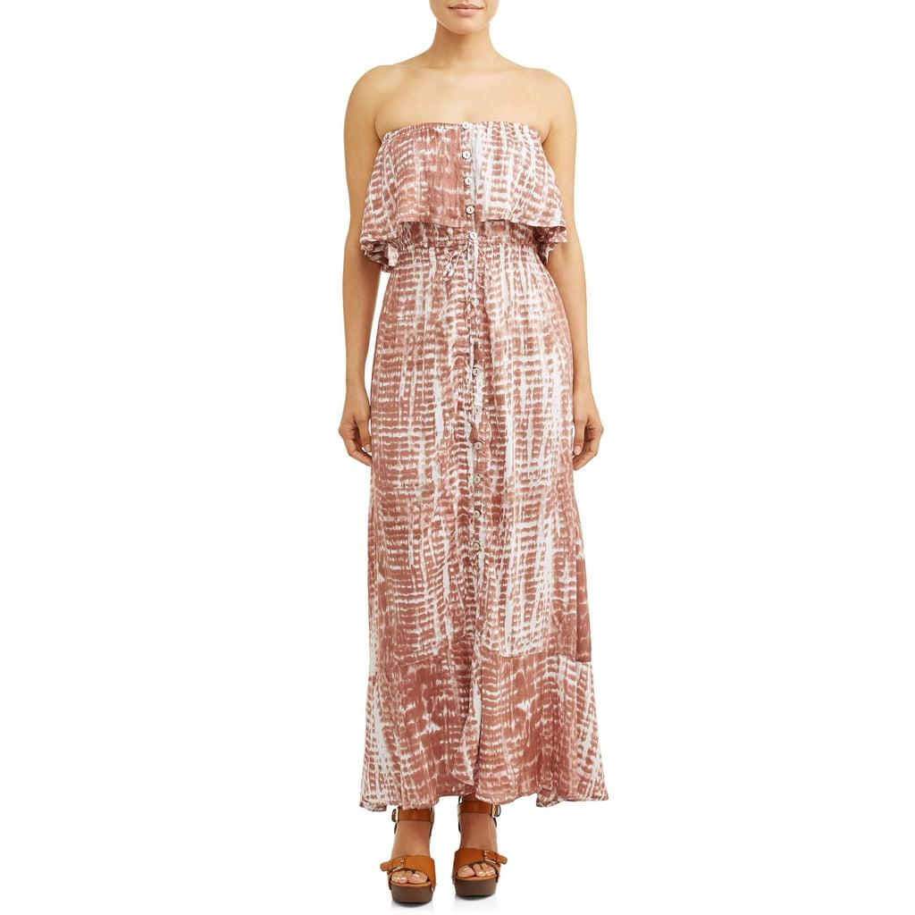 Sofia Jeans by Sofia Vergara Strapless Maxi Dress
