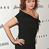 Susan Sarandon wore a sexy black dress for her Arbitrage premiere in NYC.