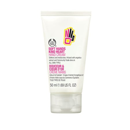 The Body Shop Soft Hands, Kind Heart Cream, $10.95