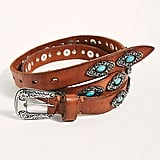 Free People Georgia Embellished Western Belt
