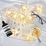 Busoh Rose Gold Geometric Lights