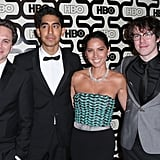 Thomas Sadoski, Dev Patel, Olivia Munn, and John Gallagher Jr.