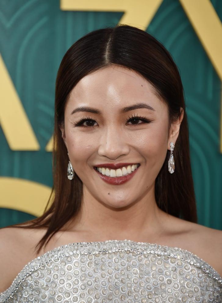 wu constance makeup crazy rich asians premiere beauty popsugar strip eyes