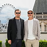 Brad Pitt and Leonardo DiCaprio at the London Photocall of Once Upon a Time in Hollywood