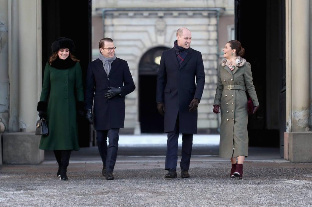Prince William Kate Middleton Sweden and Norway Tour Photos