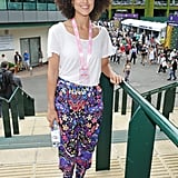 Nathalie Emmanuel at Day 1 of Wimbledon