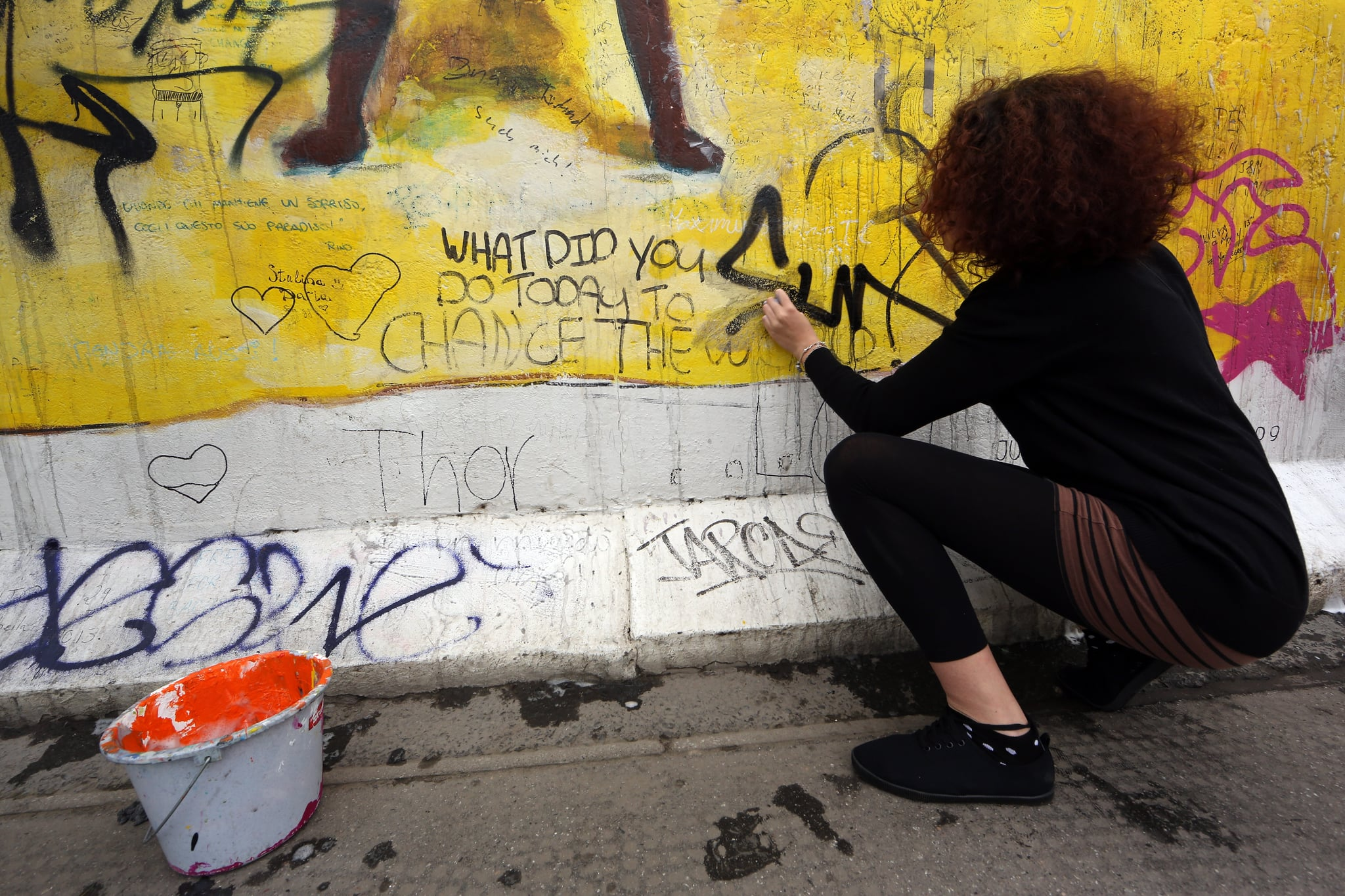 Interracial Couple Fined For Not Removing Graffiti ...