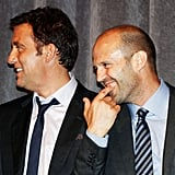 Jason Statham and Clive Owen in Toronto.
