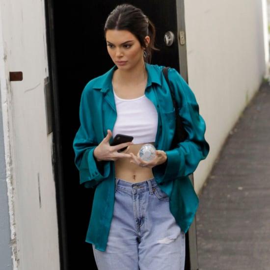 Kendall Jenner Wearing Yeezy Jeans