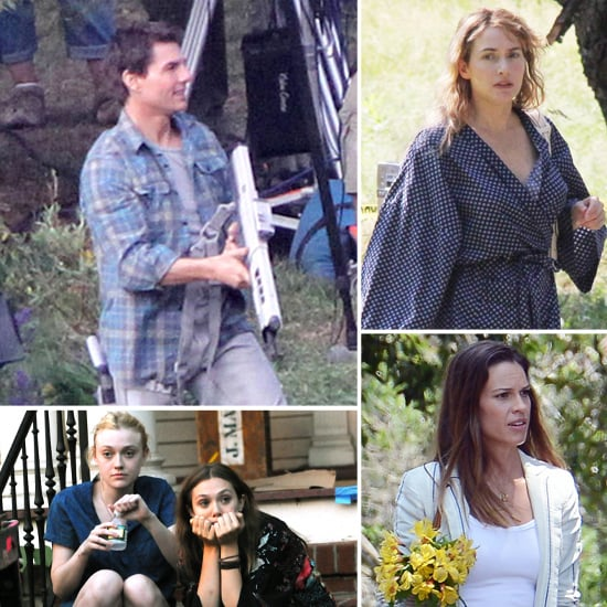 Celebrities on Set For the Week of July 13, 2012