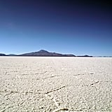 Camp at the Salt Lakes in Bolivia