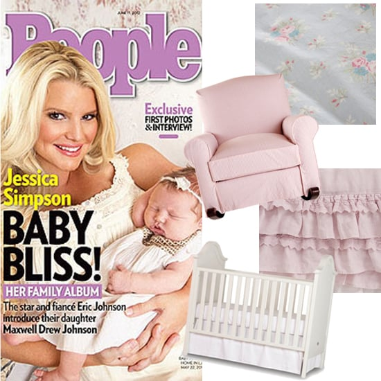 Steal Jessica Simpson's Shabby Chic Nursery Look For Less!