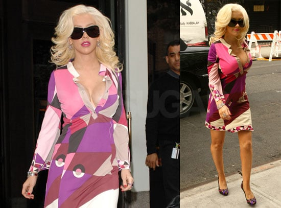 Christina Aguilera Thinks Pink