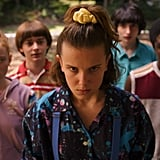 It looks like Eleven is going to do some serious damage whilst wearing a scrunchie, which is already iconic if you ask me.