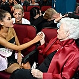 Ariana Grande's Grandmother Totally Stole the Show at the AMAs