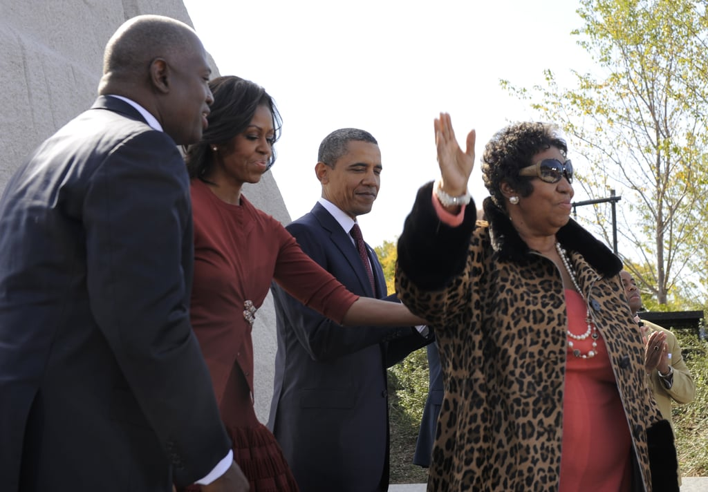 The Obamas and Franklin