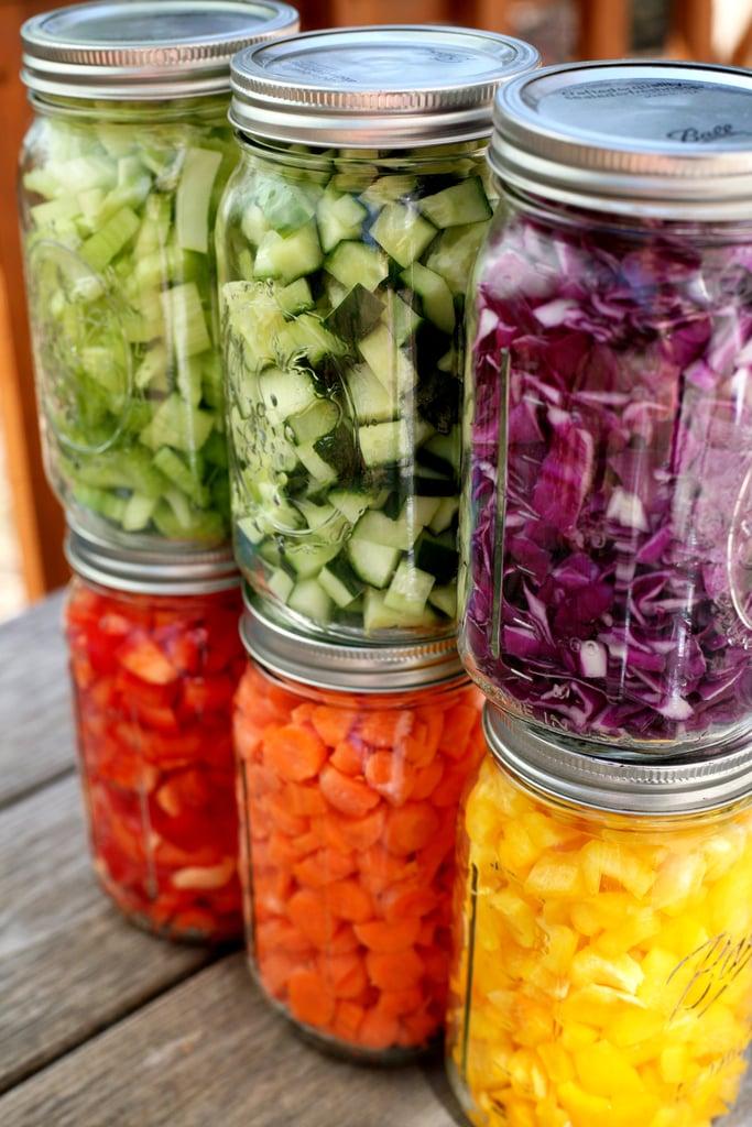 Prep Your Own Salad Bar