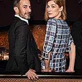 Marc Jacobs and Rosamund Pike