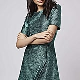 Topshop Tinsel Wrap A-Line Dress ($95)