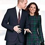 Kate Middleton Smiling at Prince William Pictures