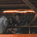 Prince Harry cozied up to a brunette at the Belly Up Tavern in San Diego.