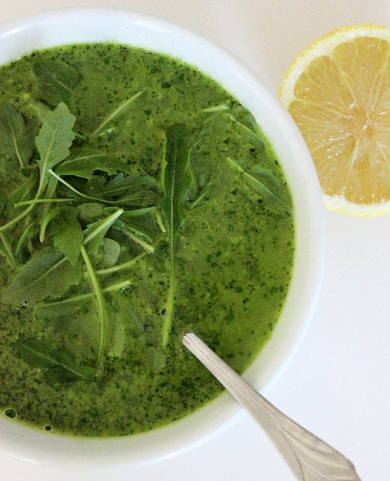 Broccoli Arugula Soup