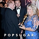 Leonardo DiCaprio's mom, Irmelin Indenbirken, was on hand to support her son at the Oscars.