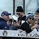 Tom Brady and His Family at 2019 Super Bowl Parade