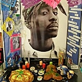 Tupac Shakur died on a Friday the 13th.