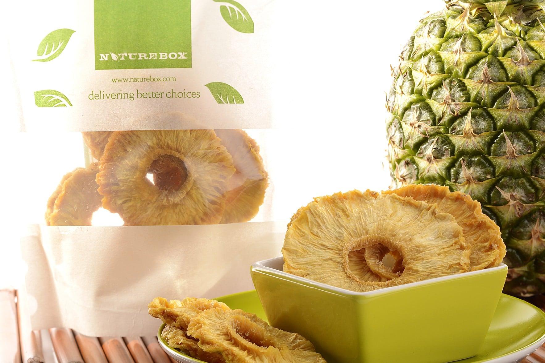 NatureBox Pineapple Rings