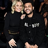 The Weeknd Supports Bella at Victoria's Secret Fashion Show