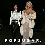 Kourtney and Kim Kardashian as Michael Jackson and Madonna